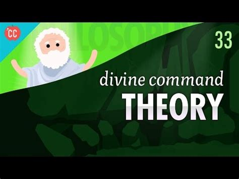 PHL100: Euthyphro Argument and Divine Command Theory